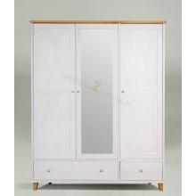 Pine wardrobe Siena 3d2s