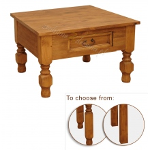 Pine coffee table Hacienda 01