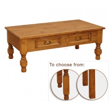 Pine coffee table Hacienda 02