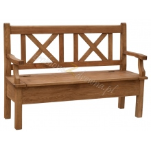 Pine bench Hacienda 06