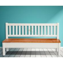 Pine bench Hacienda 02