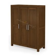 Birch wardrobe Rodan W3
