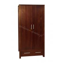 Pine wardrobe Milano 02