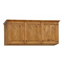Pine top box with 3 doors 03