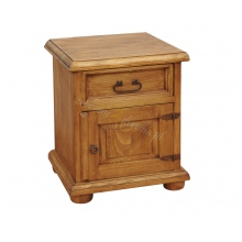 Pine bedside table Hacienda SD