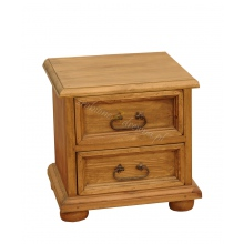 Pine bedside table Hacienda 2s
