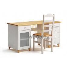 Pine desk Siena