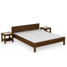 Birch bed Rodan L3