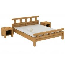 Birch bed Rodan L7