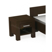Birch bedside table Rodan N2