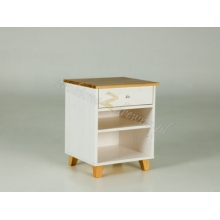 Pine bedside table Siena